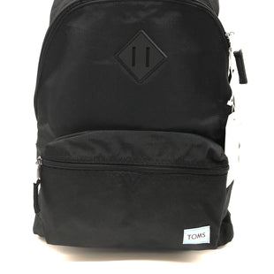 Primary Photo - BRAND: TOMS STYLE: BACKPACK COLOR: BLACK SIZE: MEDIUM SKU: 262-26275-68780NEW CONDITION