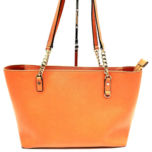 Primary Photo - BRAND: MICHAEL KORS STYLE: HANDBAG DESIGNER COLOR: ORANGE SIZE: MEDIUM SKU: 262-26241-42529AS IS SLIGHT SPOT ON THE BOTTOMDESIGNER ITEM FINAL SALE APPROX 15×10×5