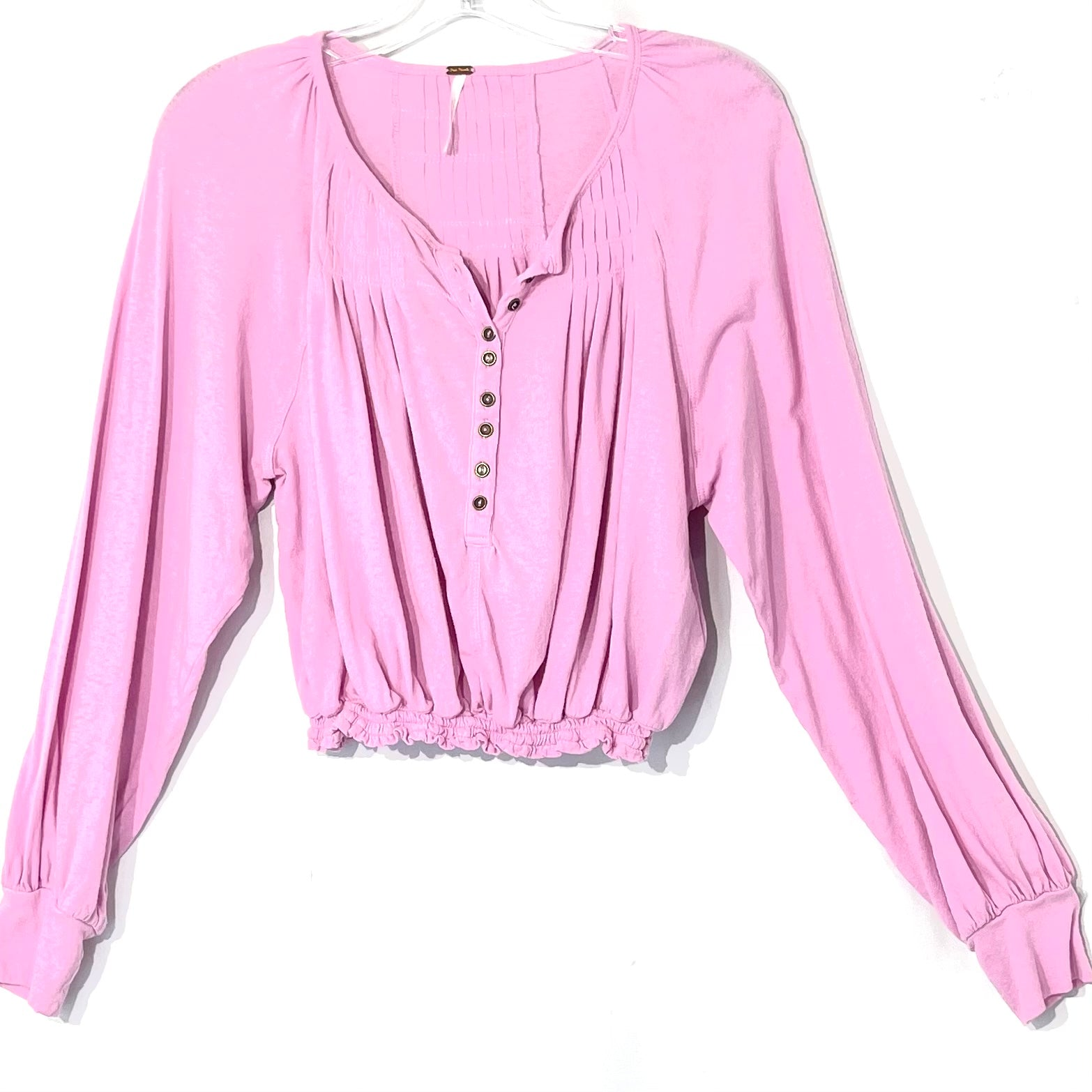 Primary Photo - BRAND: FREE PEOPLE <BR>STYLE: TOP LONG SLEEVE <BR>COLOR: LILAC<BR>SIZE: M <BR>SKU: 262-26275-66744