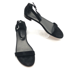 Primary Photo - BRAND: STUART WEITZMAN STYLE: SANDALS FLAT COLOR: BLACK SIZE: 9.5 SKU: 262-26275-74313NEW CONDITION