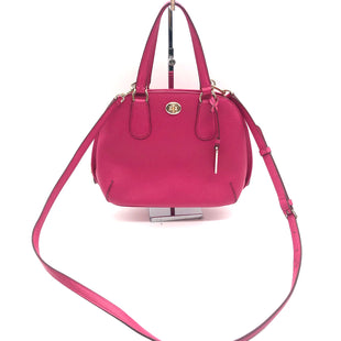 "Primary Photo - BRAND: COACHSTYLE: HANDBAG DESIGNER COLOR: HOT PINK SIZE: SMALL SKU: 262-26275-74425AS IS WEAR DESIGNER BRAND FINAL SALE APPROX 10""X8""X4"""