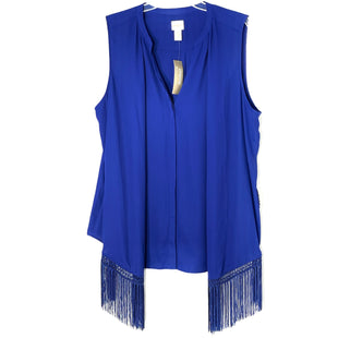 Primary Photo - BRAND: CHICOS STYLE: TOP SLEEVELESS COLOR: ROYAL BLUE SIZE: XL /3SKU: 262-26275-66258