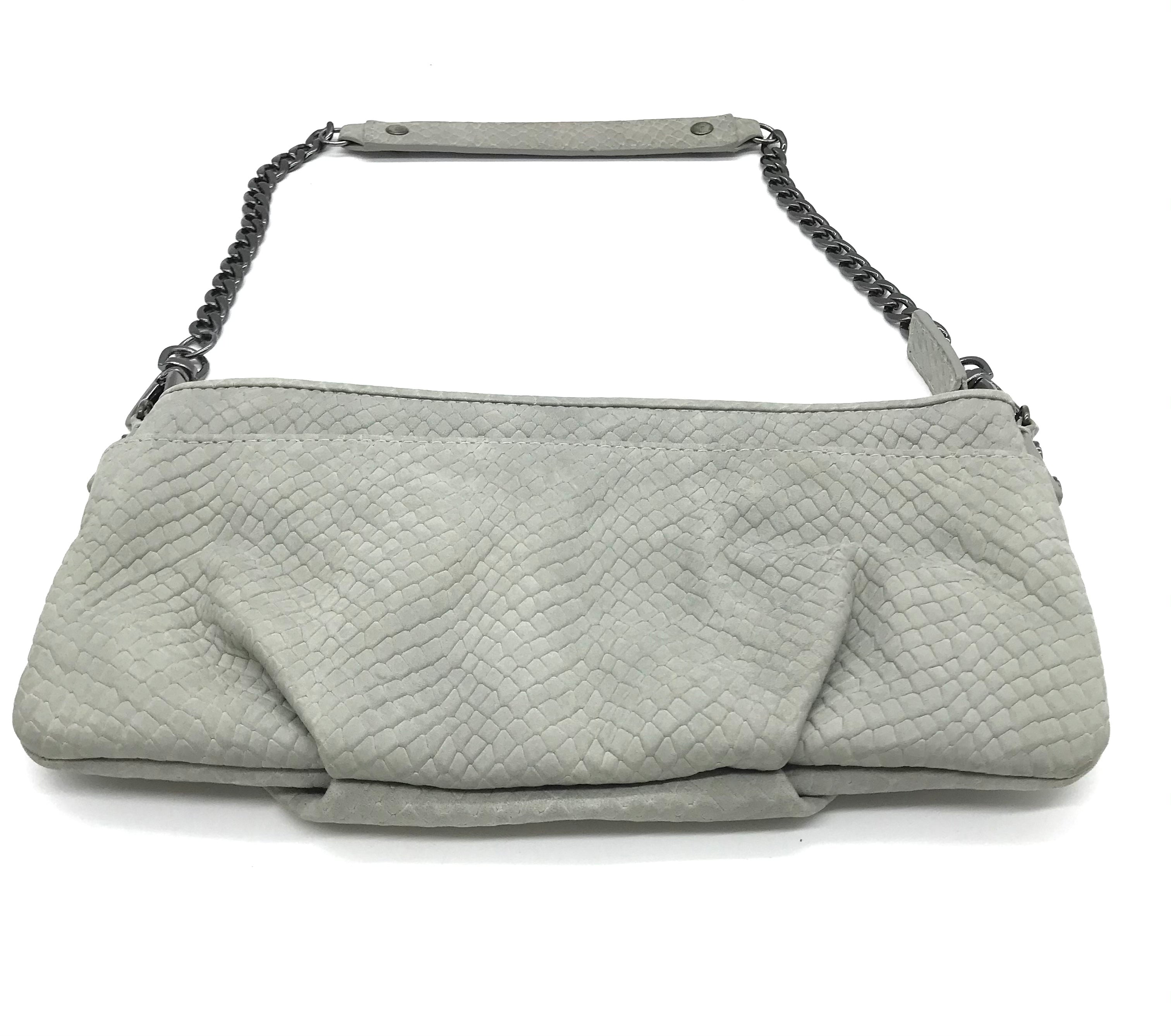 "Photo #2 - BRAND: KENNETH COLE <BR>STYLE: WRISTLET <BR>COLOR: GREY <BR>SKU: 262-26241-44459<BR><BR>APPROX. 9.25""L X 4.5""H"