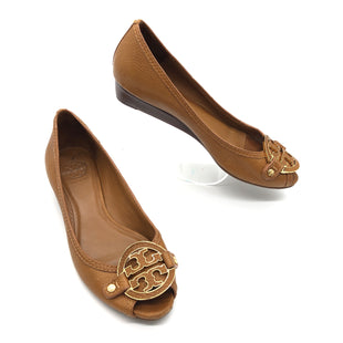 Primary Photo - BRAND: TORY BURCH STYLE: SHOES FLATS COLOR: BROWN SIZE: 8.5 SKU: 262-26275-74881GENTLE WEAR - AS IS