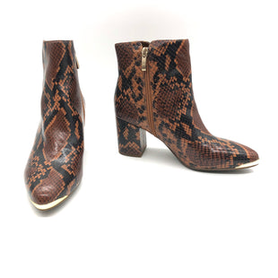 Primary Photo - BRAND: FRANCO SARTO STYLE: BOOTS ANKLE COLOR: SNAKESKIN PRINT SIZE: 6 SKU: 262-26275-78191AS IS