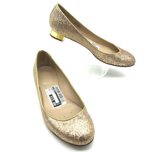 Primary Photo - BRAND: J CREWSTYLE: SHOES FLATS COLOR: METALLIC SIZE: 7 SKU: 262-26275-66370IN GOOD SHAPE AND CONDITION