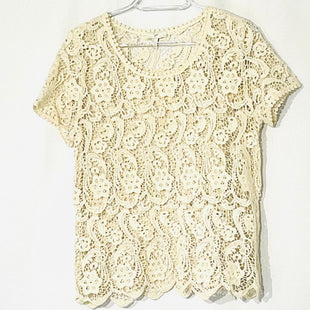 Primary Photo - BRAND: JOIE STYLE: TOP SHORT SLEEVE COLOR: BEIGE SIZE: S SKU: 262-26275-75199100% COTTON