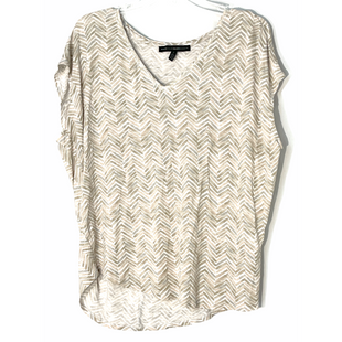 Primary Photo - BRAND: WHITE HOUSE BLACK MARKET STYLE: TOP SLEEVELESS COLOR: GREY WHITE BEIGESIZE: L SKU: 262-26241-47642
