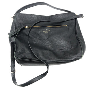 "Primary Photo - BRAND: KATE SPADE STYLE: HANDBAG DESIGNER COLOR: BLACK SIZE: MEDIUM OTHER INFO: AS IS WEAR SKU: 262-26275-78271GENTLE WEAR REFLECTED IN PRICE. APPROX. 12""L X 11.5""H X 4.75""D"