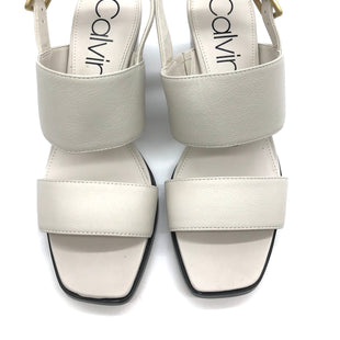Primary Photo - BRAND: CALVIN KLEIN STYLE: SANDALS LOW COLOR: BEIGE SIZE: 7 SKU: 262-26275-64396LIKE NEW CONDITION - AS IS