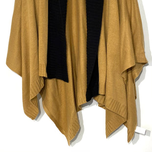Primary Photo - BRAND: ANN TAYLOR STYLE: SHAWL COLOR: DARK CARAMEL BLACK SIZE: M/LSKU: 262-26211-140938