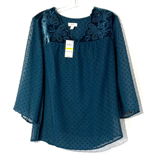 Primary Photo - BRAND: STYLE AND COMPANY STYLE: TOP LONG 3/4 SLEEVE COLOR: DARK TEALSIZE: M SKU: 262-26275-58118