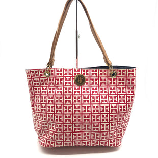 Primary Photo - BRAND: TOMMY HILFIGER STYLE: HANDBAG COLOR: GEOMETRIC SIZE: SMALL SKU: 262-26275-69394AS IS FINAL SALE