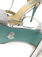 Photo #3 - BRAND: BETSEY JOHNSON <BR>STYLE: SANDALS HIGH <BR>COLOR: SILVER <BR>SIZE: 9.5 <BR>SKU: 262-26275-62519<BR>IN NEW CONDITION - AS IS