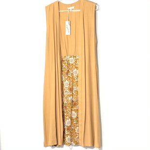 Primary Photo - BRAND: MYSTREE STYLE: DRESS SHORT SLEEVELESS COLOR: TAN SIZE: M SKU: 262-26275-78138LONG LENGTH