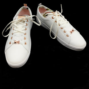 Primary Photo - BRAND: TED BAKER STYLE: SHOES ATHLETIC COLOR: FLORAL SIZE: 11 SKU: 262-26275-71989AS IS STYLE BACK OF SHOE STRIPES ARE DIFFERENT COLORS