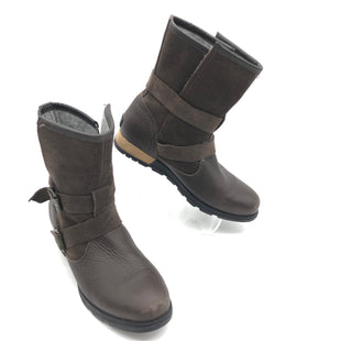 Primary Photo - BRAND: SOREL STYLE: BOOTS ANKLE COLOR: BROWN SIZE: 8.5 SKU: 262-26275-74954GENTLE WEAR ON TOES • OVERALL IN GOOD SHAPE AND CONDITION •