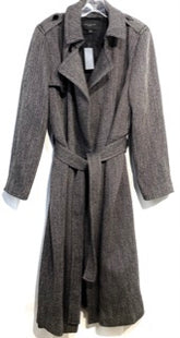 Primary Photo - BRAND: ANN TAYLOR STYLE: COAT SHORT COLOR: BLACK WHITE SIZE: XXL SKU: 262-26211-1409202% SPANDEX