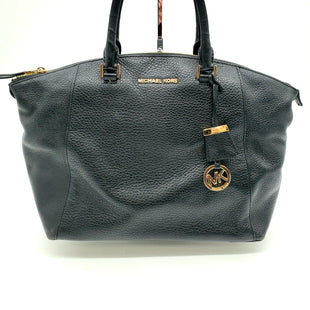 Primary Photo - BRAND: MICHAEL KORS STYLE: HANDBAG DESIGNER COLOR: BLACK SIZE: MEDIUM OTHER INFO: AS IS SLIGHT WEAR CORNERS SKU: 262-26241-43565AS IS SLIGHT WEAR ON CORNERS AND HARDWARE, MISSING STRAP DESIGNER ITEM FINAL SALE