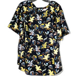 Primary Photo - BRAND: ANN TAYLOR LOFT PLUS<BR>STYLE: TOP SHORT SLEEVE <BR>COLOR: FLORAL <BR>SIZE: 2X/20<BR>SKU: 262-262101-1606