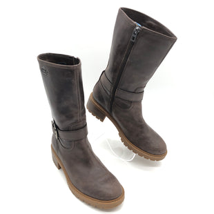 Primary Photo - BRAND: COACH STYLE: BOOTS ANKLE COLOR: BROWN SIZE: 7 SKU: 262-26241-45243GENTLE WEAR - AS IS