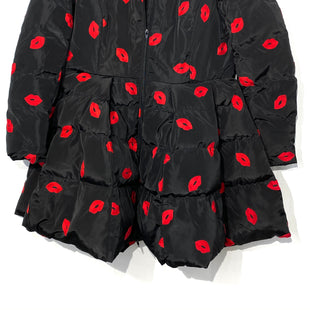 "Primary Photo - BRAND:    CLOTHES MENTOR STYLE: COAT SHORT COLOR: BLACK RED SIZE: L SKU: 262-26275-68221PIT TO HEM 22""SIZE TAG STATES XXL BUT RUNS SMALL FITS MORE L AS IS"