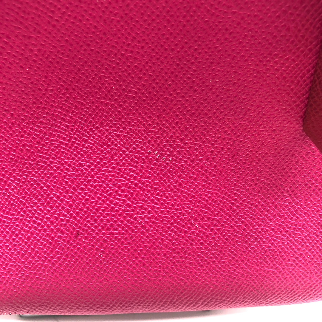 "Photo #3 - BRAND: COACH<BR>STYLE: HANDBAG DESIGNER <BR>COLOR: HOT PINK <BR>SIZE: SMALL <BR>SKU: 262-26275-74425<BR>AS IS WEAR <BR>DESIGNER BRAND FINAL SALE <BR>APPROX 10""X8""X4"""