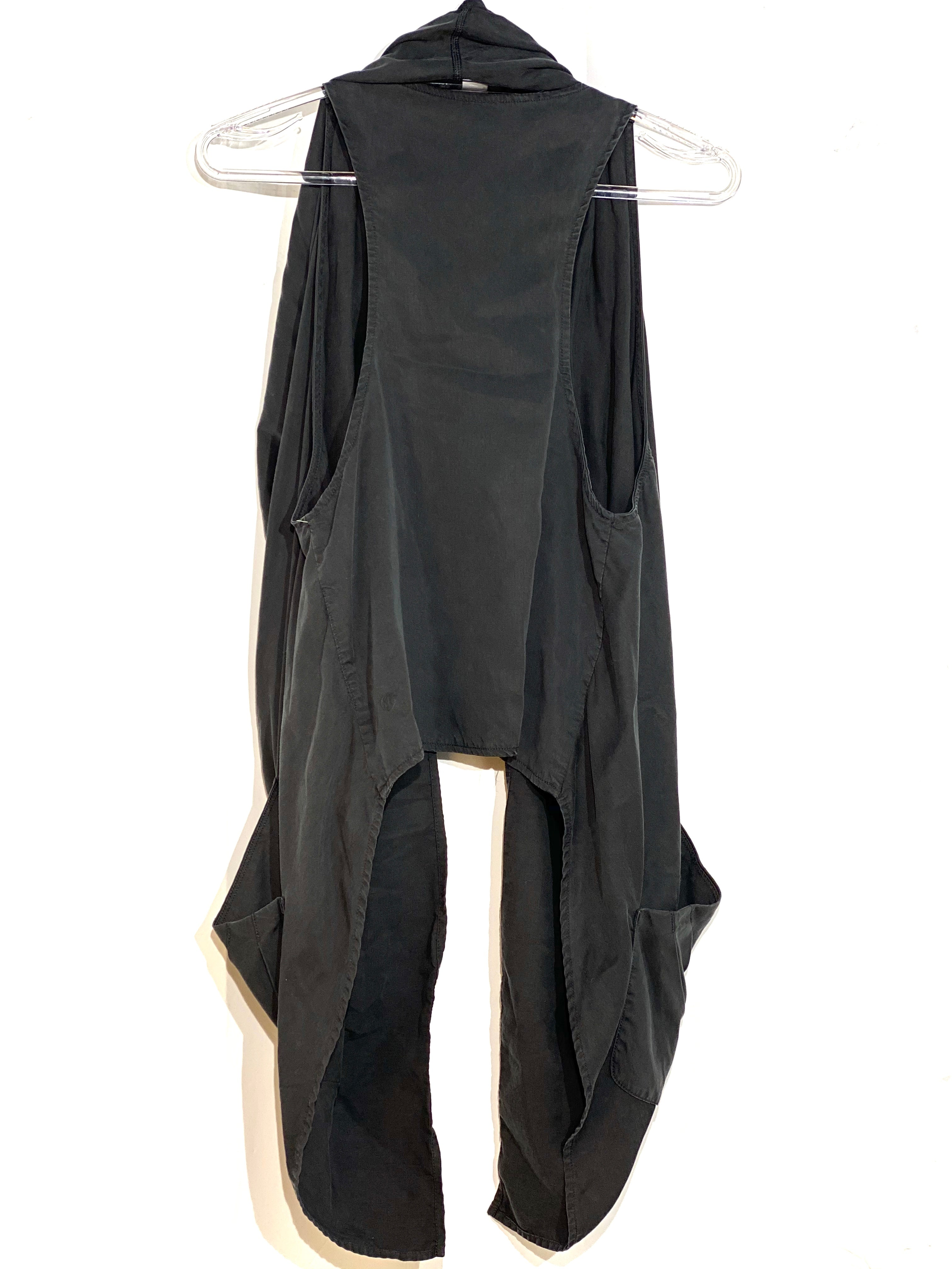 Photo #1 - BRAND: LULULEMON <BR>STYLE: ATHLETIC VEST<BR>COLOR: BLACK <BR>SIZE: S <BR>SKU: 262-26241-42201<BR><BR>GENTLE WEAR AS IS (SLIGHT FADE EDGES)<BR>SIZE TAG MISSING
