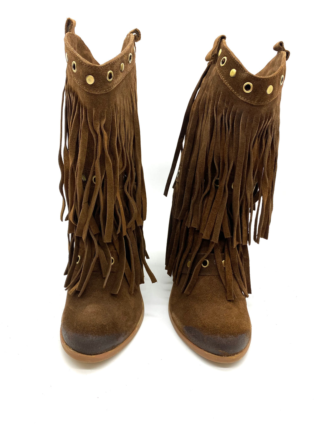 Photo #3 - BRAND: NAUGHTY MONKEY <BR>STYLE: BOOTS ANKLE <BR>COLOR: BROWN <BR>SIZE: 7.5 <BR>SKU: 262-26275-68411