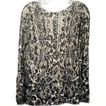 Photo #1 - BRAND: CHICOS <BR>STYLE: TOP LONG SLEEVE <BR>COLOR: SNAKESKIN PRINT <BR>SIZE: M /1<BR>SKU: 262-26275-75797
