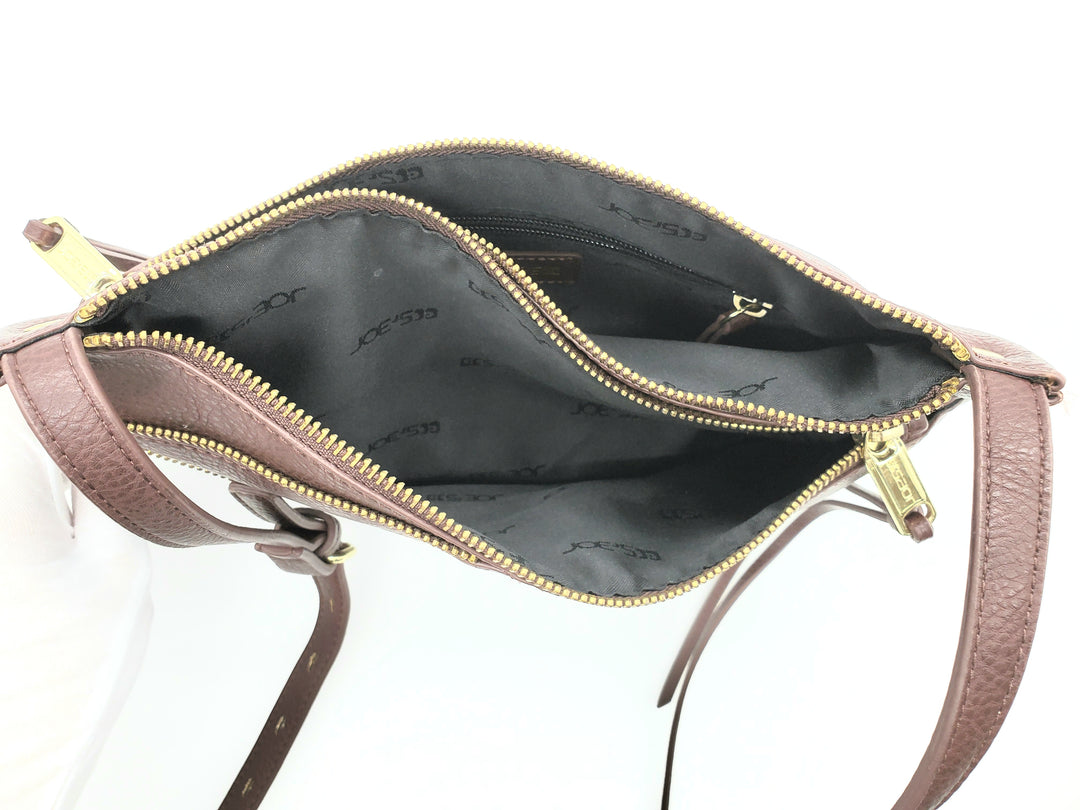 Photo #2 - BRAND: JOES JEANS <BR>STYLE: HANDBAG <BR>COLOR: BROWN <BR>SIZE: SMALL <BR>SKU: 262-26275-67904<BR>AS IS <BR>APPROX 12