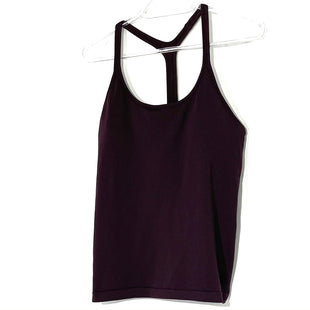 Primary Photo - BRAND: ATHLETA STYLE: ATHLETIC TANK TOP COLOR: MAROON SIZE: M SKU: 262-26275-78069