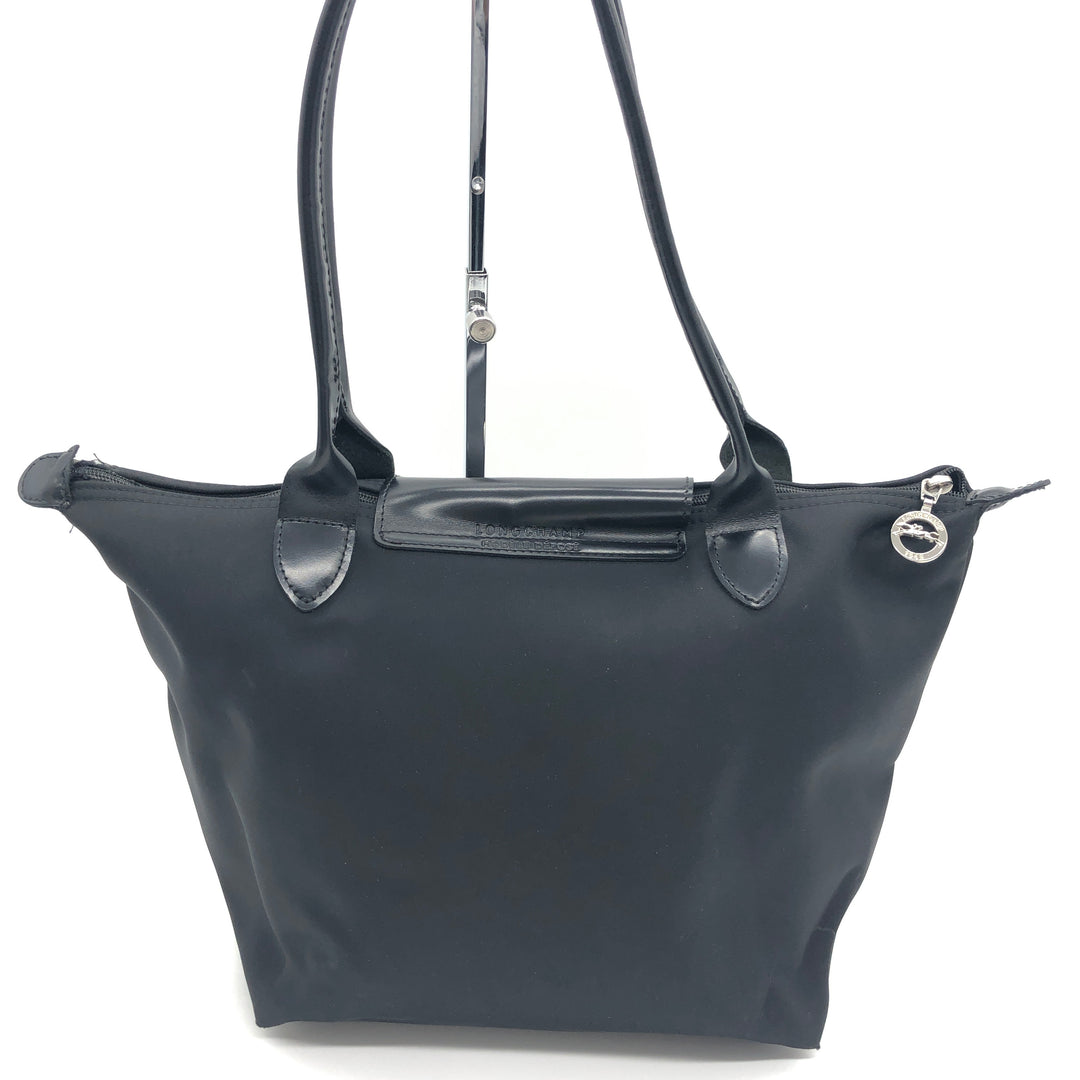 Photo #2 - BRAND: LONGCHAMP <BR>STYLE: MODELE DEPOSE<BR>COLOR: BLACK <BR>SIZE: SMALL <BR>SKU: 262-26275-74621<BR>WEAR SHOWS • BROKEN ZIPPER • AS IS