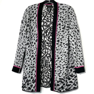 Primary Photo - BRAND: NIC + ZOE STYLE: SWEATER CARDIGAN LIGHTWEIGHT COLOR: ANIMAL PRINT SIZE: S SKU: 262-26275-76440