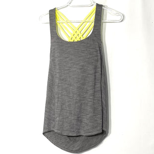 Primary Photo - BRAND: LULULEMON STYLE: ATHLETIC TANK TOP COLOR: GREY SIZE: 2 SKU: 262-26211-142329DESIGNER FINAL