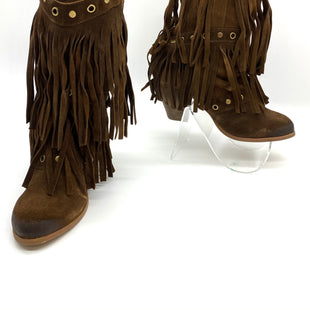 Primary Photo - BRAND: NAUGHTY MONKEY STYLE: BOOTS ANKLE COLOR: BROWN SIZE: 7.5 SKU: 262-26275-68411