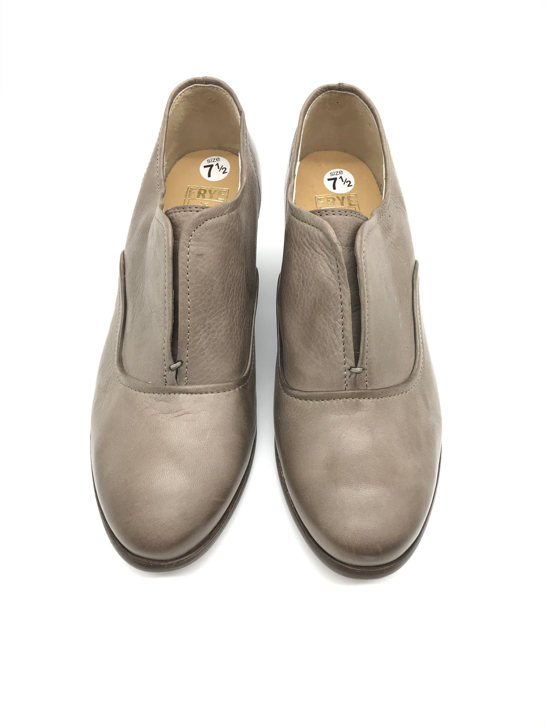 Primary Photo - BRAND: FRYE <BR>STYLE: SHOES LOW HEEL <BR>COLOR: TAUPE <BR>SIZE: 7.5 <BR>SKU: 262-26241-37170<BR>GENTLE WEAR - AS IS
