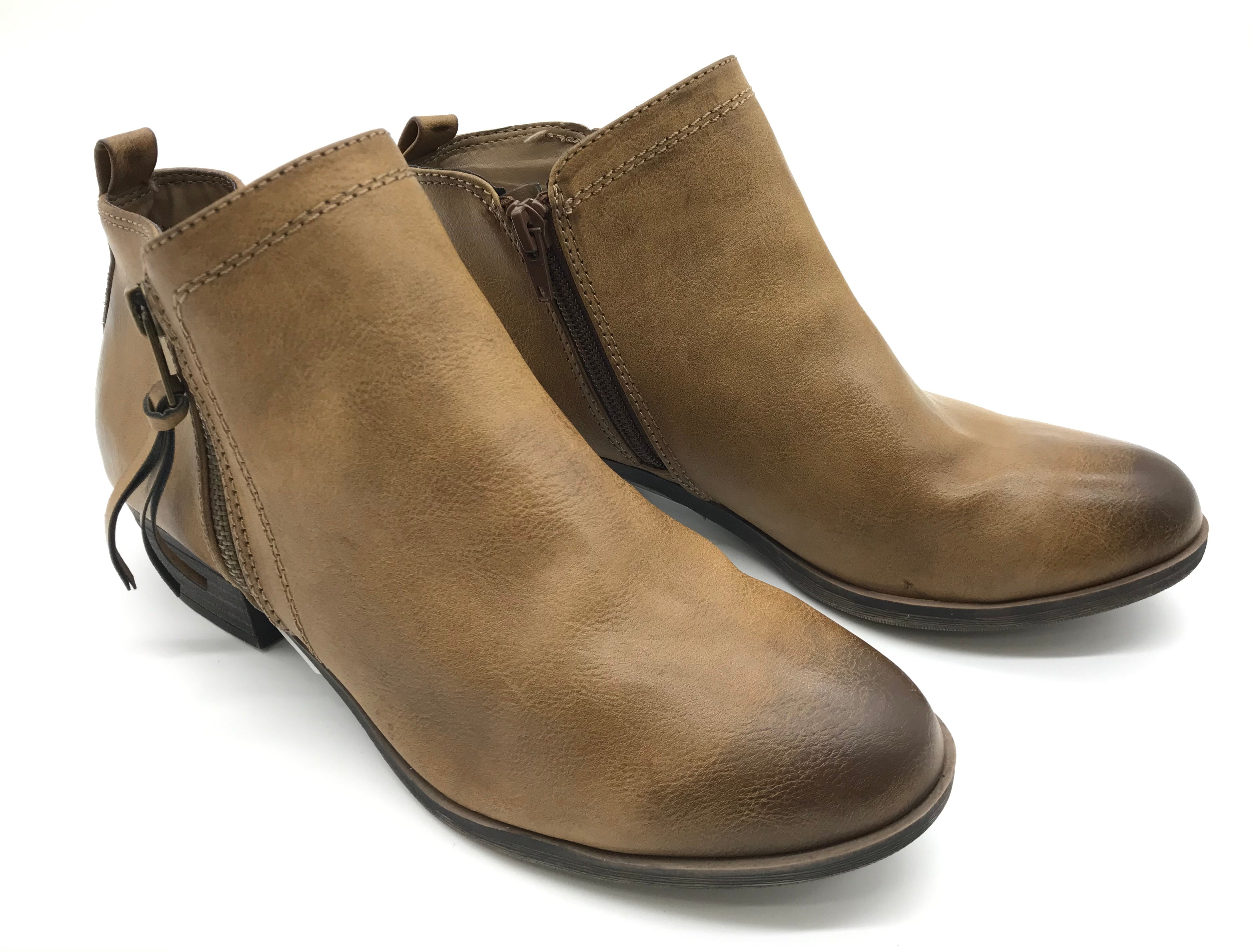 Photo #2 - BRAND:  SERRA<BR>STYLE: BOOTS ANKLE <BR>COLOR: TAN <BR>SIZE: 9 <BR>SKU: 262-26275-57199<BR>AS IS