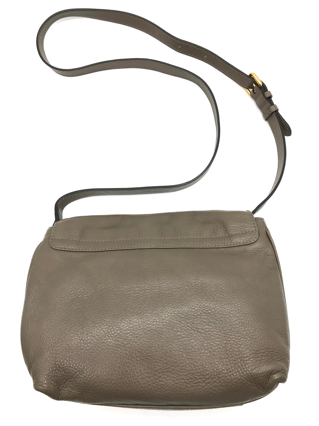 "Photo #3 - BRAND: MARC BY MARC JACOBS <BR>STYLE: HANDBAG DESIGNER <BR>COLOR: TAUPE <BR>SIZE: SMALL 8.5""H X 10""L X 2.2""W<BR>STRAP DROP: 22.5""<BR>SKU: 262-26241-43499<BR>IN GOOD SHAPE AND CONDITION"