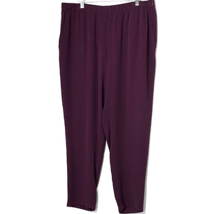 Primary Photo - BRAND: EILEEN FISHER STYLE: PANTS COLOR: PURPLE SIZE: L /12-14SKU: 262-262101-2374100% SILK