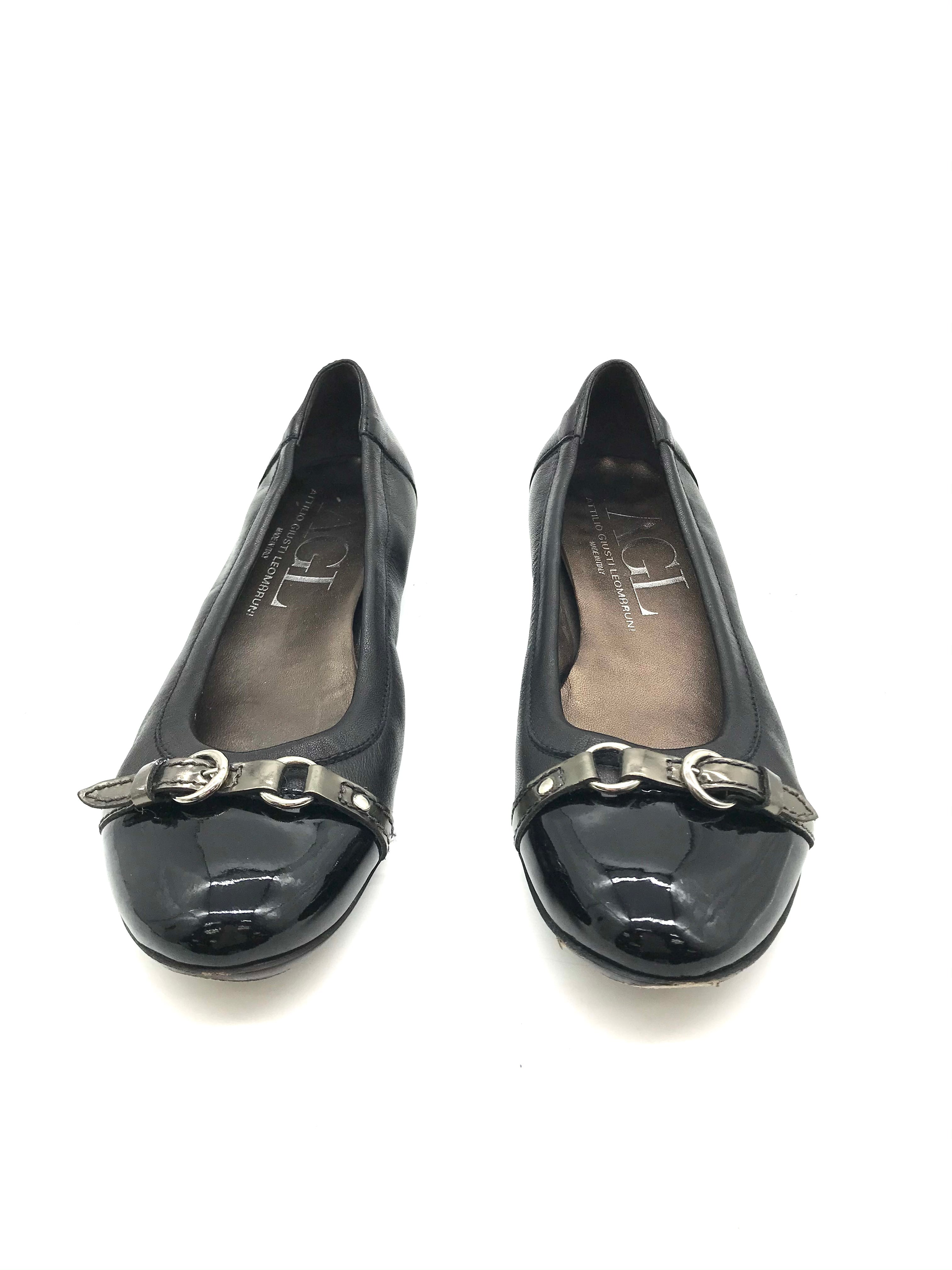 Photo #1 - BRAND:  CMB <BR>STYLE: SHOES FLATS <BR>COLOR: BLACK <BR>SIZE: 8 <BR>SKU: 262-26275-73109<BR><BR>AS IS WEAR (SEE PHOTOS)
