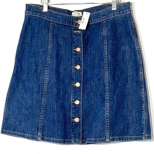 Primary Photo - BRAND: J CREW STYLE: SKIRT COLOR: DENIM SIZE: 10/31SKU: 262-26241-46187