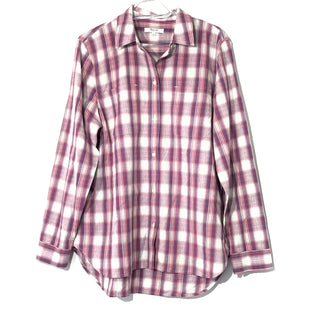 Primary Photo - BRAND: MADEWELL STYLE: TOP LONG SLEEVE COLOR: PLAID SIZE: L SKU: 262-26275-74211