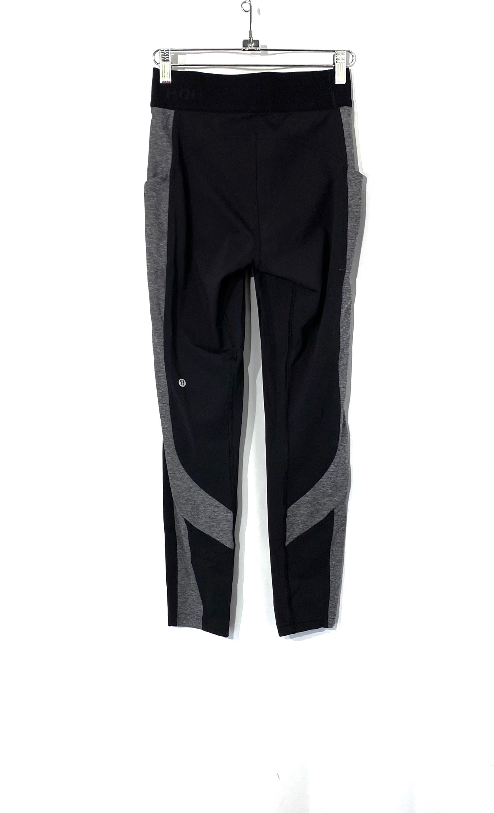 Photo #1 - BRAND: LULULEMON <BR>STYLE: ATHLETIC PANTS<BR>COLOR: GREY BLACK<BR>SIZE: 6 <BR>SKU: 262-26275-72802<BR>DESIGNER FINAL
