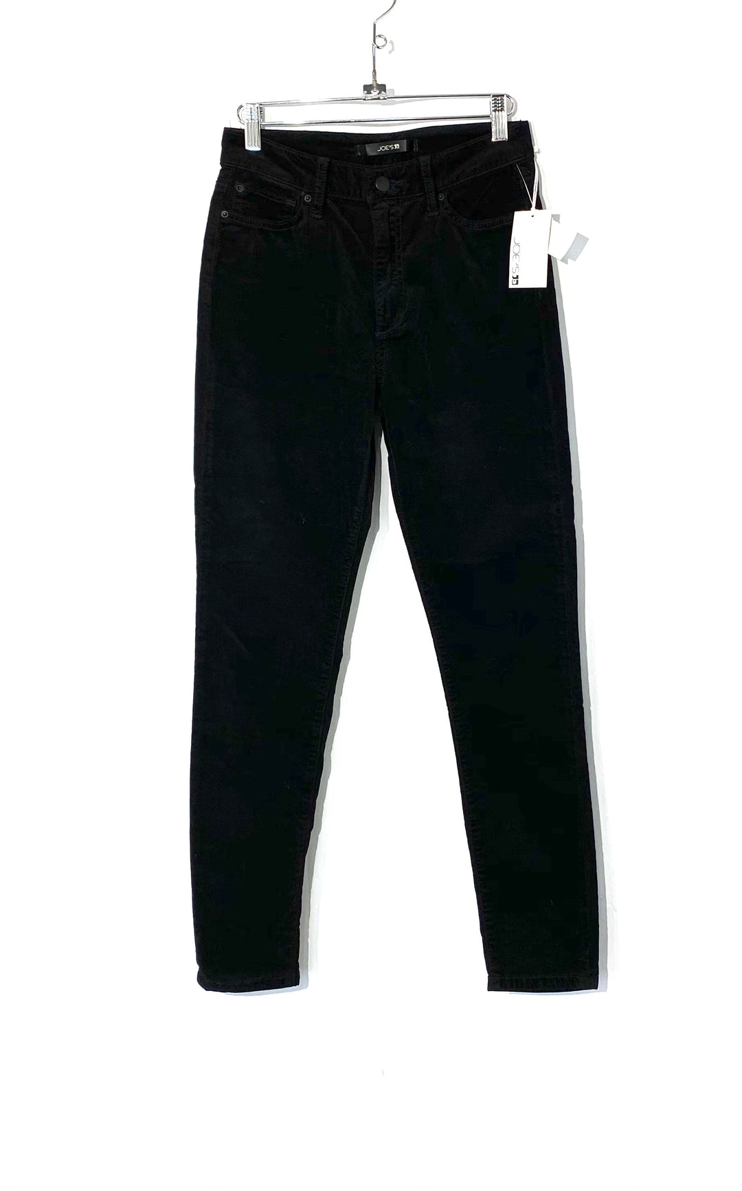 Primary Photo - BRAND: JOES JEANS <BR>STYLE: PANTS <BR>COLOR: BLACK <BR>SIZE: 4 /26<BR>SKU: 262-26275-72699<BR>VELOUR