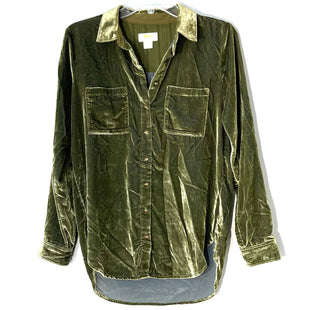 Primary Photo - BRAND: MAEVE ANTHROPOLOGIE STYLE: TOP LONG SLEEVE COLOR: GREEN SIZE: XS /2SKU: 262-26211-144298VELOUR