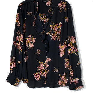 Primary Photo - BRAND: WHO WHAT WEAR STYLE: TOP LONG SLEEVE COLOR: FLORAL SIZE: 2X SKU: 262-26241-42792