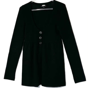 Primary Photo - BRAND: AQUA STYLE: SWEATER CARDIGAN CASHMERE COLOR: BLACK SIZE: XS SKU: 262-26275-76343GENTLEST PILLING AS IS