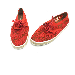 Primary Photo - BRAND: AEROSOLES STYLE: SHOES ATHLETIC COLOR: RED SIZE: 9.5 SKU: 262-26275-72000AS IS