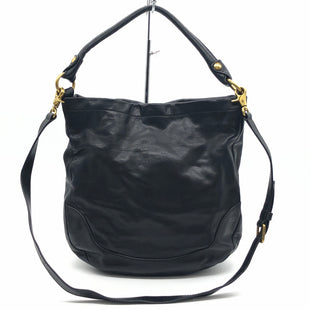 "Primary Photo - BRAND: FRYE STYLE: HANDBAG DESIGNER COLOR: BLACK SIZE: MEDIUM 14""H X 12.5""L X 4.5""WDROP: 18""SKU: 262-26275-60563IN EXCELLENT SHAPE AND CONDITION"